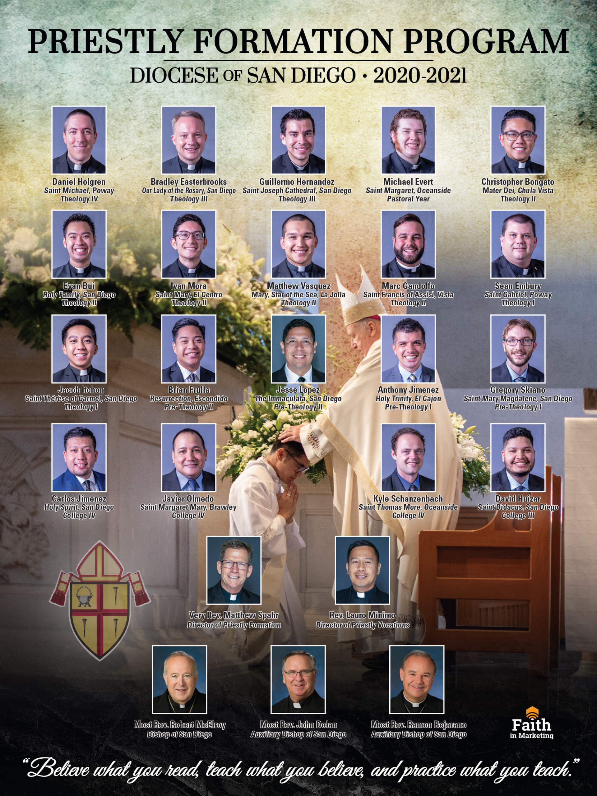 Vocations – The Roman Catholic Diocese of San Diego