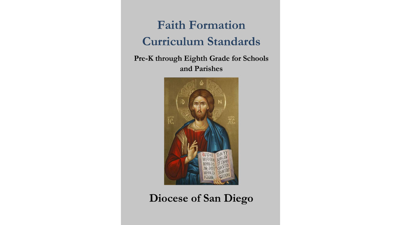 Faith Formation Curriculum Standards Banner
